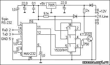 электрическая схема январь 7 2