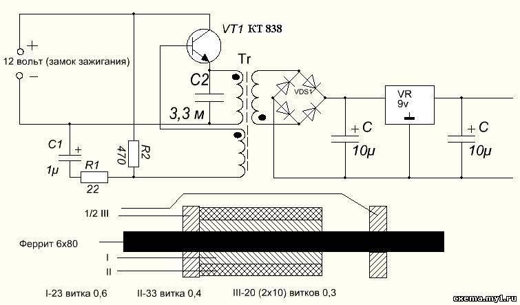 Dt-831 мультиметр схема