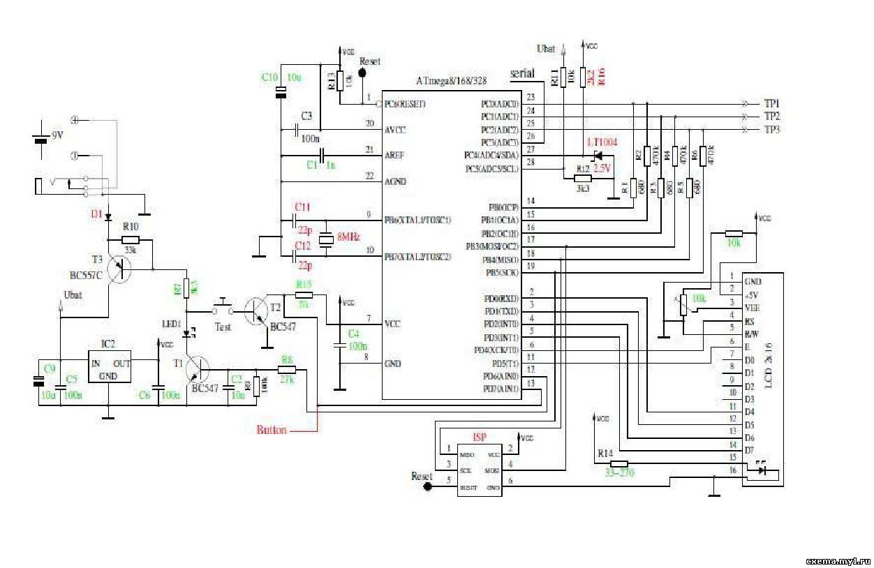 Схема тестера на atmega328 фото 183
