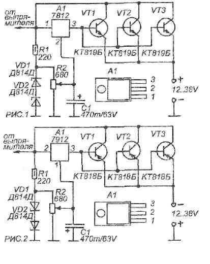 На рисунке 1 показана схема