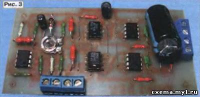 Пускозарядное устройство с синхронным выпрямителем
