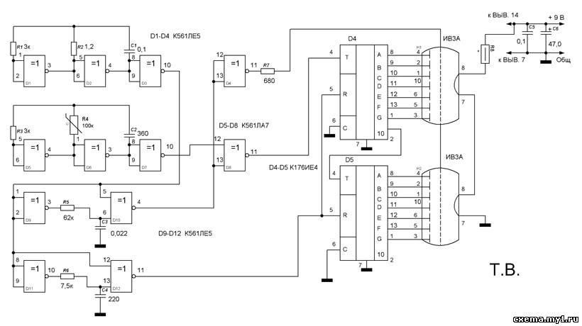 Простой цифровой термометр своими руками с датчиком на lm35 54