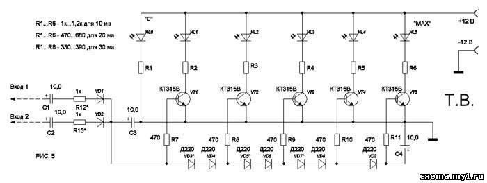 Светодиоды в этой схеме