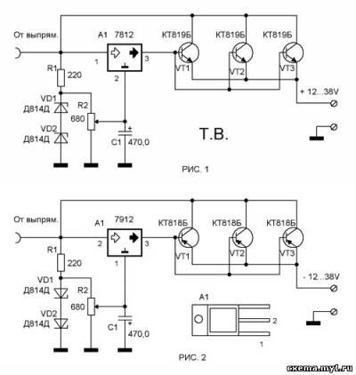 Интегральные стабилизаторы напряжения кренка