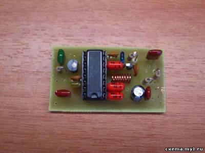 Простой панорамный анализатор спектра на PC