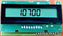 Малогабаритный частотомер-цифровая шкала до 200 МГц с ЖКИ дисплеем CVAVR AVR CodeVision cvavr.ru