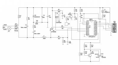 Сенсорный регулятор освещения с дистанционным управлением