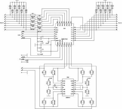 USB, UART, SPI, I2C интерфейсы.