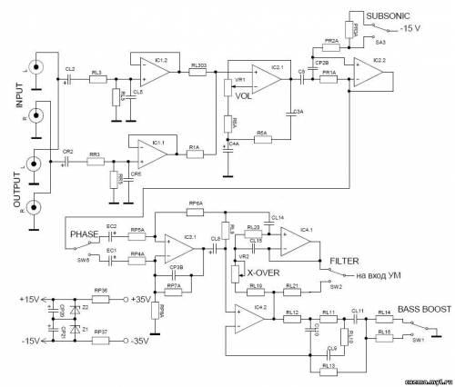 Ремонт одноканального автомобильного усилителя Xtreme 500W