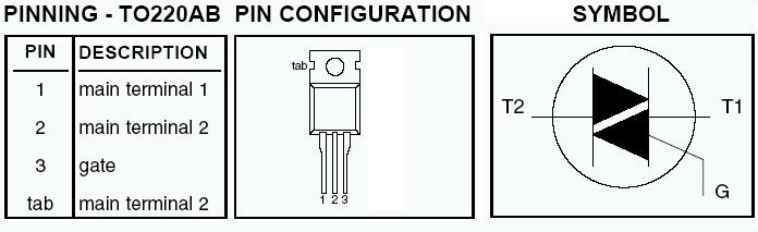 Симисторное управление индуктивной нагрузкой на кт117.
