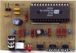 рис.5 Печатная плата в формате *.pcb. а описание серии ISD-14xx здесь...