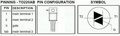Полупроводниковый ключ переменного тока CVAVR AVR CodeVision cvavr.ru