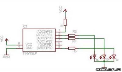 Схема управления rgb светодиодами фото 613