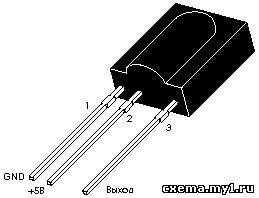 Принципиальные схемы и описание компонентов ИК-приемника