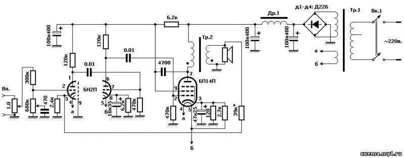 """Ниже приводится схемка электропроигрователя виниловых дисков  """"ЮНОСТЬ-301 """" Убрал всё лишнее, добавил дроссель и..."""
