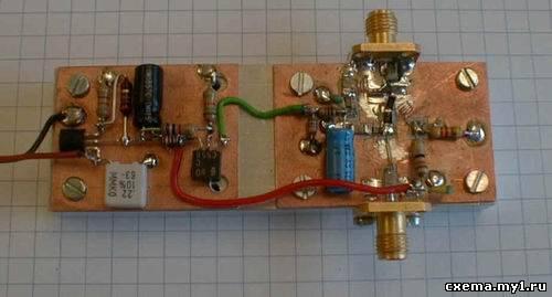 Антенный усилитель на 430/1260 МГц