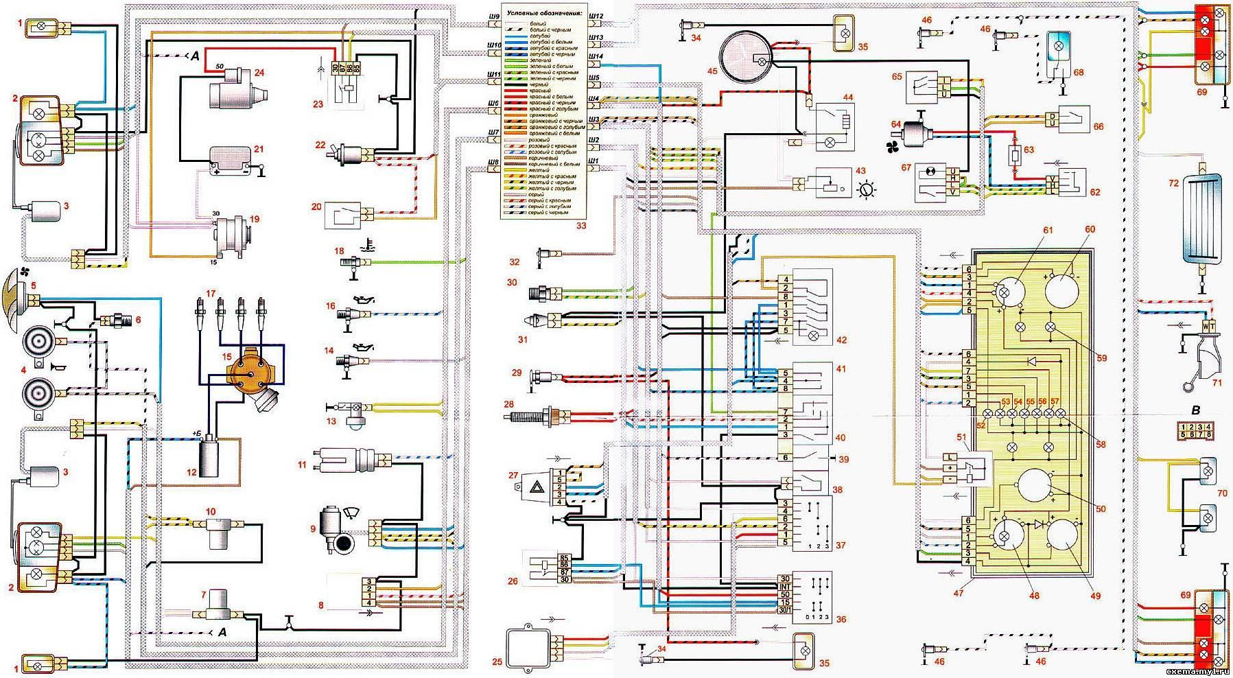 Принципиальная электрическая схема ваз 21110 » Схемы ...: http://malobi.ru/2013/08/03/printsipial-naya-e-lektricheskaya-shema-vaz-21110/