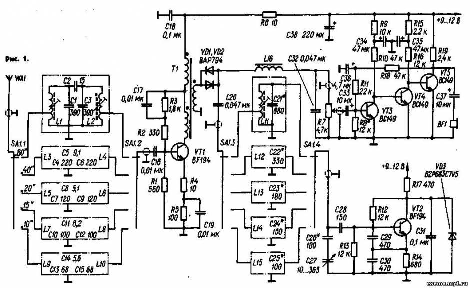 Радиоприëмник коротковолновика