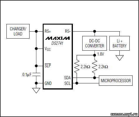 Интегральный датчик тока