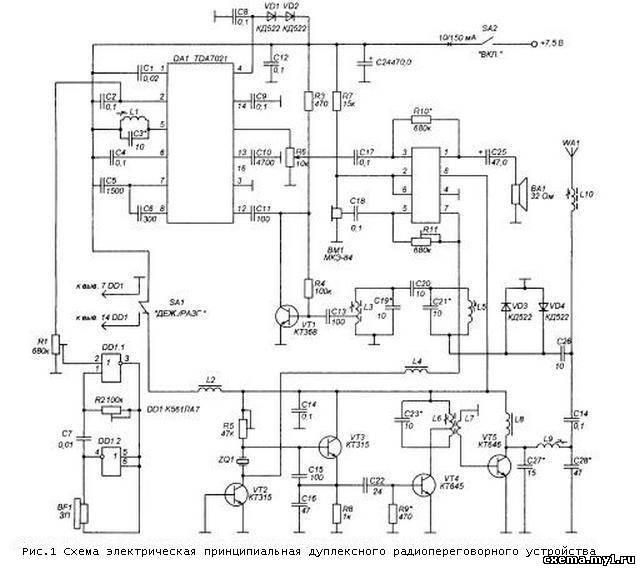 Дуплексное радиопереговорное устройство CVAVR AVR CodeVision cvavr.ru