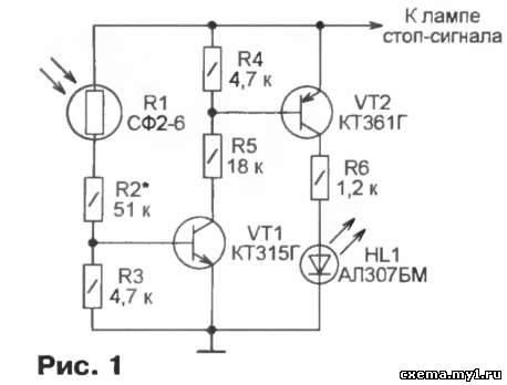 Схема контролёра показана на