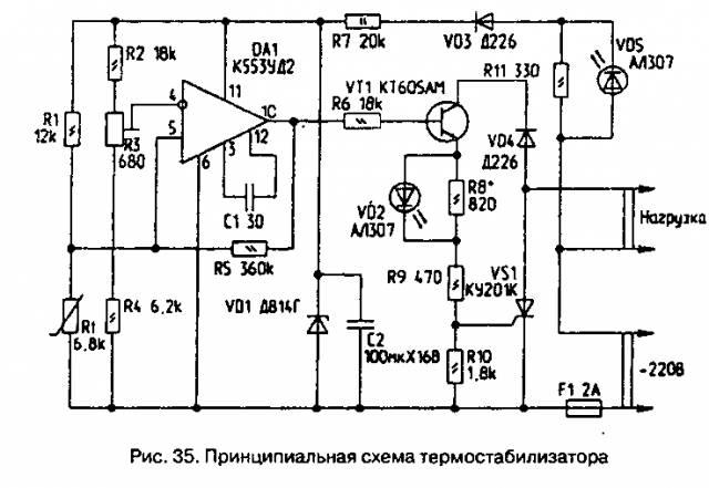 Экономичный термостабилизатор