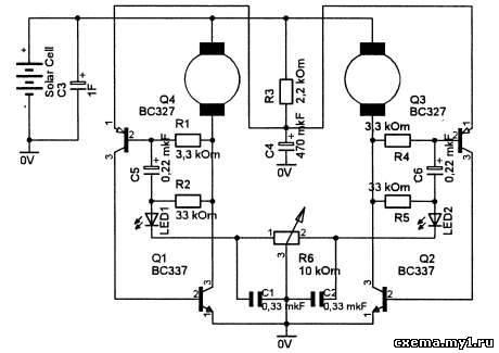 Схема робота от разработчика