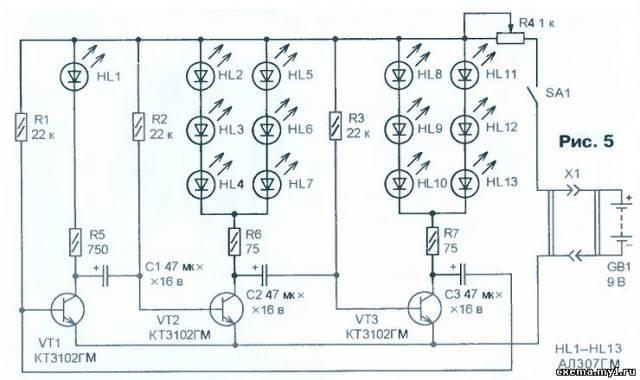 Простые автоматы световых