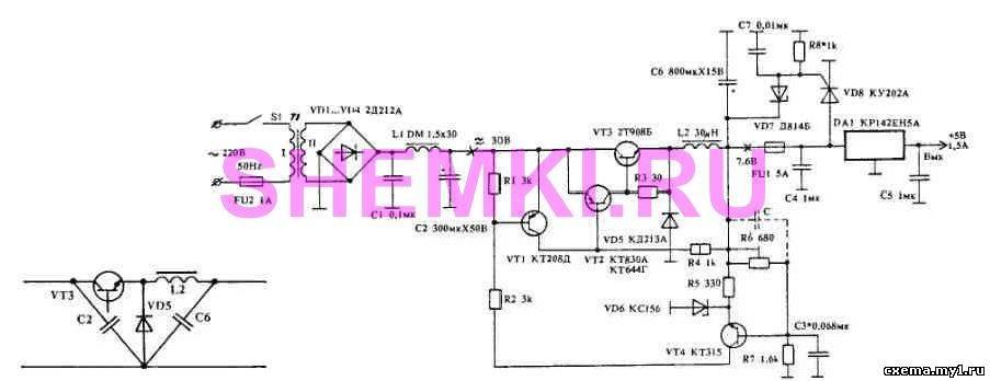 Импульсный стабилизатор поддерживает входное напряжение в пределах...