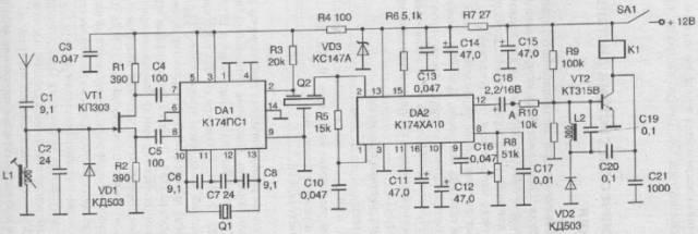 Радиотехническая система дистанционного управления