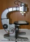 Сверлильный станок для печатных плат (attiny13, c)