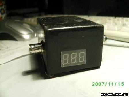 Цифровой КСВ метр на микроконтроллере (atmega8) CVAVR AVR CodeVision cvavr.ru