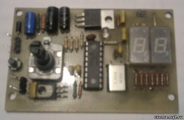 Таймер на pic16f628a CVAVR CAVR AVR CodeVision cavr.ru