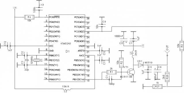 шим регулятор напряжения на микроконтроллере - Микросхемы.