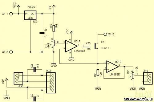 Задатчик тока 4-20мА CVAVR AVR