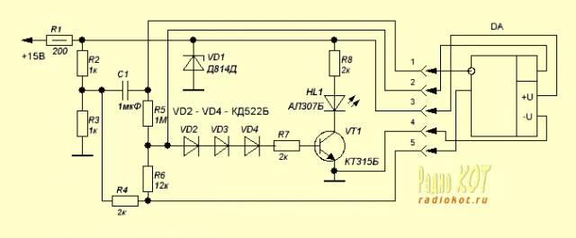 Два простых пробника для проверки ОУ. CVAVR AVR CodeVision cvavr.ru