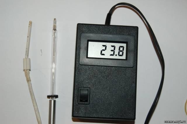 Лабораторный термометр.