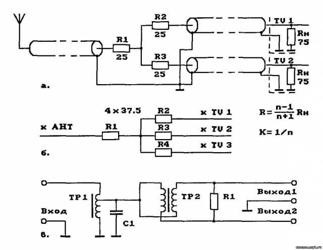 Антенный усилитель(радио и ТВ)