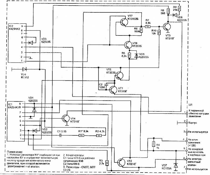 ЭПХХ - несколько схем
