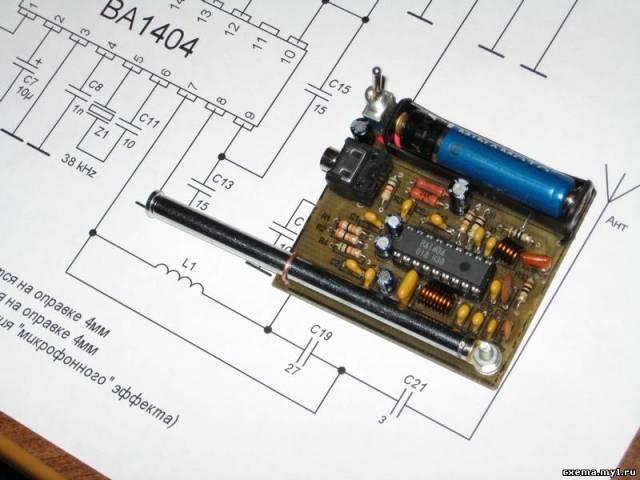 Ba1404 схема включения