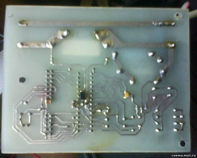 Цифровой ваттметр на МК.