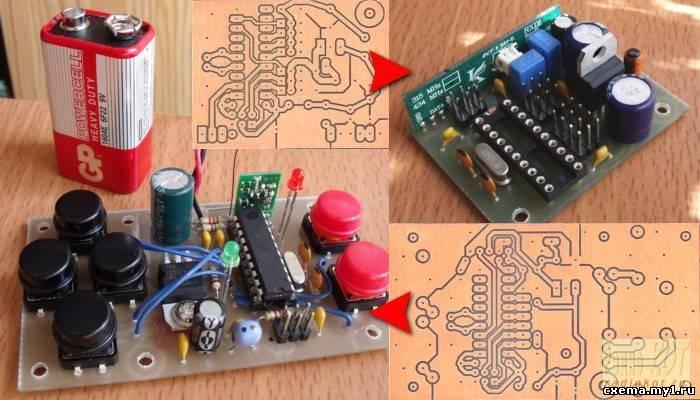 Игрушки на микроконтроллерах