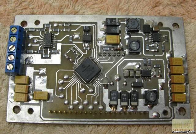 Ампервольтметр на GLCD