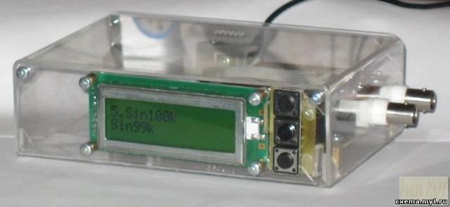 Непрецизионный синтезатор сигналов произвольной формы.
