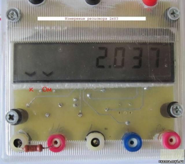 clr2313 - измеритель ёмкостей, индуктивностей и сопротивлений.