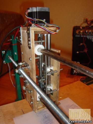 STEP/DIR контроллер 3-х шаговых двигателей на микроконтроллере (для станка ЧПУ)
