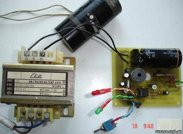 Контроллер управления двигателем микродрели.