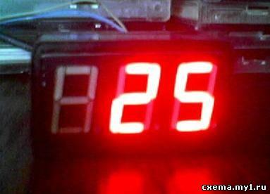 Цифровой термометр.