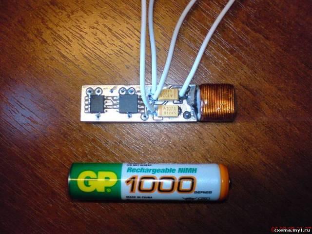 Преобразователь - контроллер светодиодного фонаря.