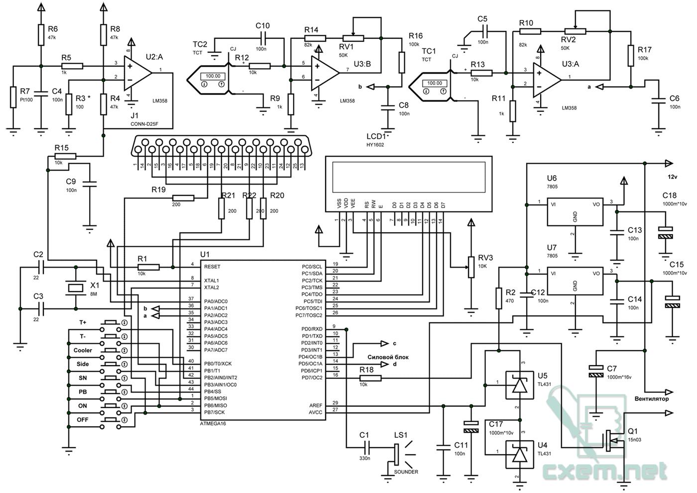 Паяльная станция на микроконтроллерах своими руками 303